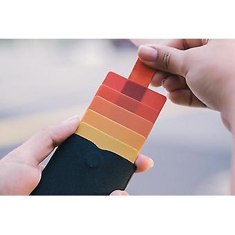 Mini, Slim, Portable Card Holders Pulled, Men, Women, Id, Credit, Wallet