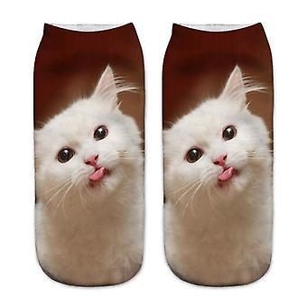 3d Printing Cat Design Fashion Unisex Socks