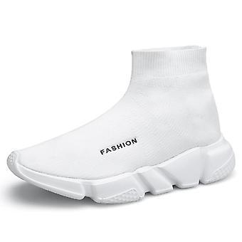 Fashion Men's Women's Comfy Mesh Woven Sneakers