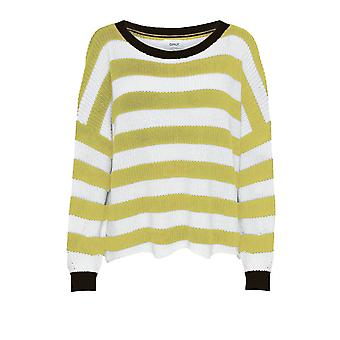 Alleen Women's Hilde Longsleeve Stripe Knit Sweater