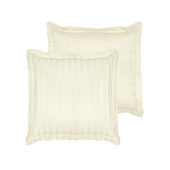cushion cover Zygo 63x63 cm cotton ivory white
