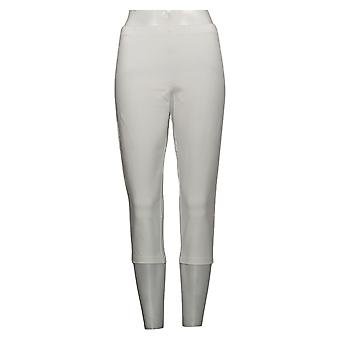 Vrouwen met controle leggings pedaal pusher wit A202284