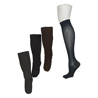 Legacy Damen Socken 8-15 mmHG Graduierte Kompression Stufung Set von 4 schwarz A388345