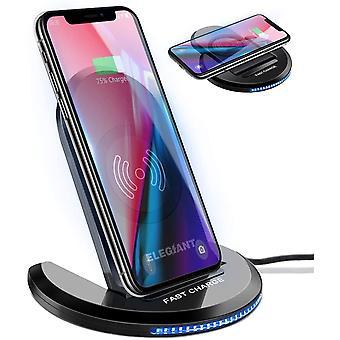 FengChun Wireless Charger Induktions Ladegerät Qi Charger Drahtlose Faltbare Schnellladegerät für