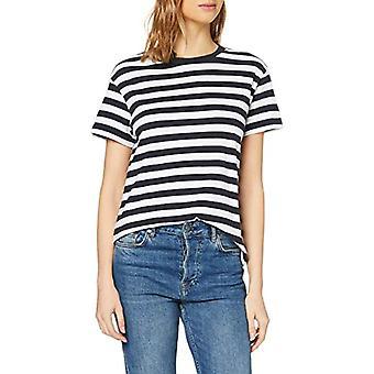 Marc O'Polo M04210051561 Camiseta, Multicolore (Multi/Silent Sea B93), XX-Small Woman