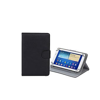 RivaCase Universele Tablet hoes 7 Inch (Samsung Galaxy Tab 4 7.0, Acer, Asus, Lenovo, Alcatel) - Zwart