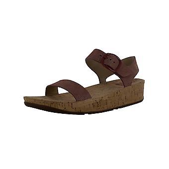 Fitflop Womens Bon Lizard Print Sandal Shoes