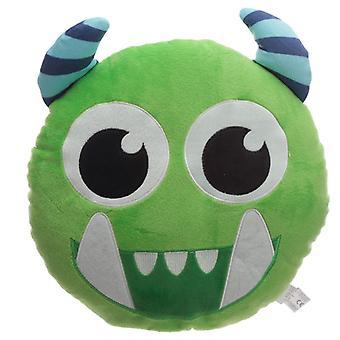 Grüne Monstarz Monster Plüsch Kissen