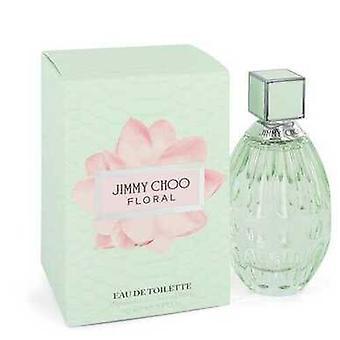 Jimmy Choo Floral Par Jimmy Choo Eau De Toilette Spray 3 Oz (femmes)