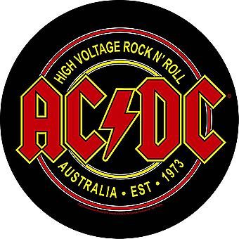 AC/DC - High Voltage Rock N Roll Back Patch