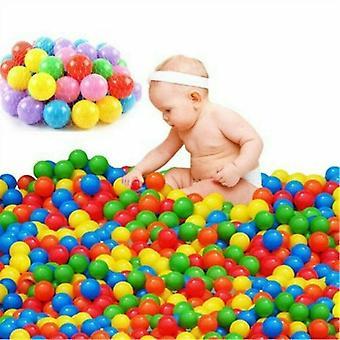 جديد 50pcs كرات المحيط الملونة للأطفال الطفل sm16707