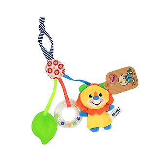 Lion Baby Hanging Toys Children Rattle Toys With Teether Music Box Bb Device Bell Soft Plush Rattling Doll