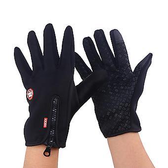1 pár Vonkajšie zimné teplé vodotesné magické rukavice Cyklistické rukavice Cyklistické rukavice Športové rukavice s citlivou dotykovou obrazovkou Funkcia Idea pre lyžovanie Snowboa