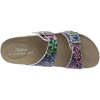Madden Girl Womens Brando-J Open Toe Casual Slide Sandals