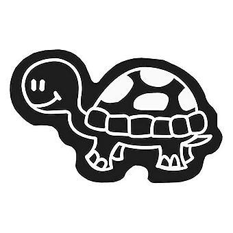 Bil klistermärke familjesköldpadda