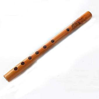 Bamboo Flute Beginner Short Chinese Flute Classical Vertical Bamboo Dizi Musical Instrument