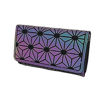 Women Holographic Laser Envelope Clutch Handbag , Chain Shoulder Bag Tote(Color 2)