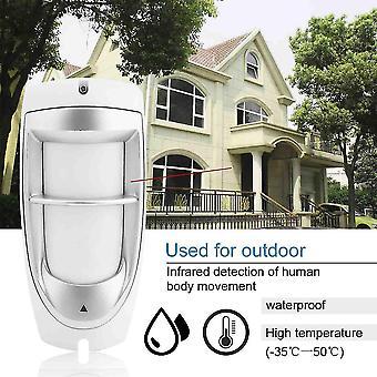 Wasserdichter digitaler Bewegungs-Dual-Pir-Detektor im Freien und Haustier-Immunität Ip45