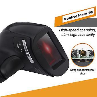 Profesionální kabelový usb laserový skener čárových kódů čtečka mobilních plateb F5