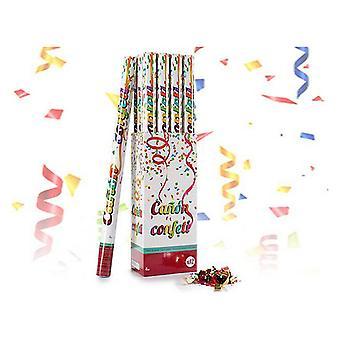 Confetti cannon Multicolour Paper Cardboard (5 x 79 x 5 cm)