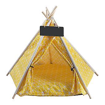 Tente pour animaux de compagnie pliante de 50 CM avec coussin