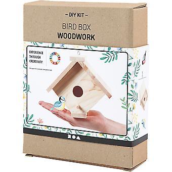 Houtbewerking Tuin Eenvoudige DIY Bird Box Craft Kit