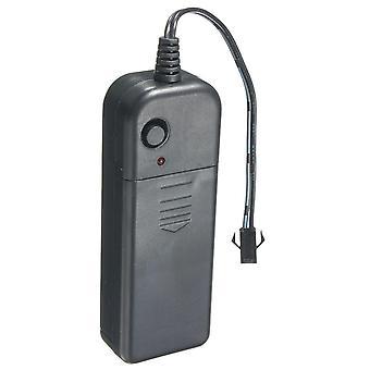 Led EL Controller Driver DC 3V LED Strip Battery Box per 1-10M LED El Wire Glow Flexible Neon Decor