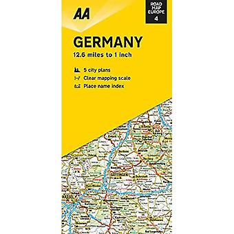 Road Map Germany (Road Map� Europe)