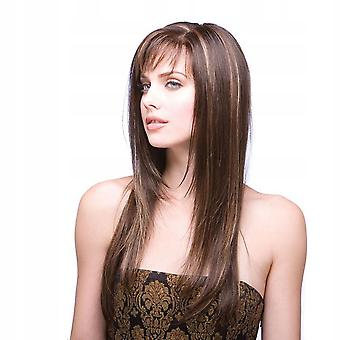 Long Hair Lace Wig Scalp Brown Cosplay Wig
