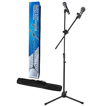 Support de micro de microphone de perche professionnel réglable avec sac de transport gratuit