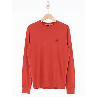 BOSS Casual Kanovant Knit - Medium Red