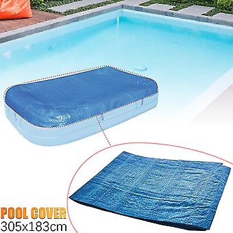 Outdoor furniture covers inflatable swimming pool dust cover paddling pools outdoor garden water pool 340x230cm