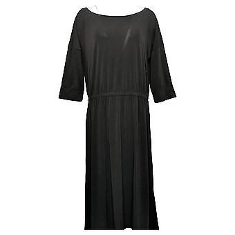 Brittany Humble Dress B.E. Ready Dolman Sleeve Midi Black 753827