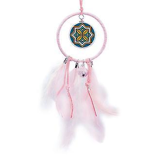 Geometri Marokko Stil Mønster Drøm Catcher Liten Bell Soverom Dekor