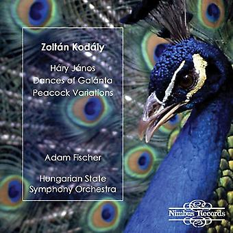 Z. Kodaly - Zolt N Kod Ly: H Ry J amendements; Danses de Gal LTN; Importer des Variations Peacock [CD] é.-u.