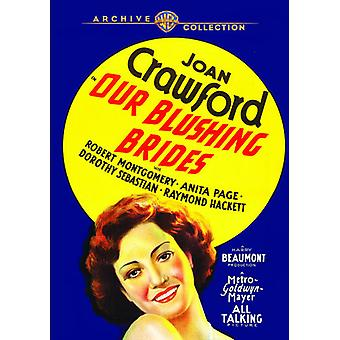 Our Blushing Brides [DVD] USA import