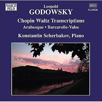 L. Godowsky - Leopold Godowsky: Chopin Waltz Transcriptions [CD] USA import
