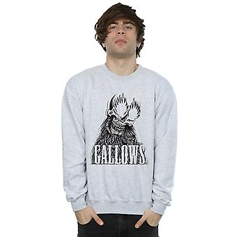 Gallows Men's Black Skull Sweatshirt
