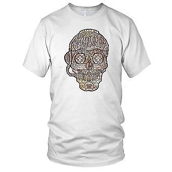 Sugar Skull Crystal Design Kids T Shirt