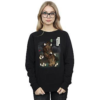 Star Wars kvinder den sidste Jedi japanske Chewbacca Porgs Sweatshirt