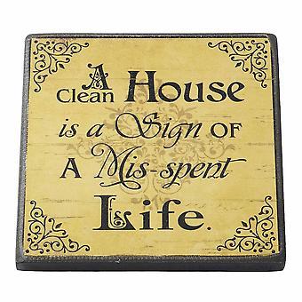 Maison propre aimant