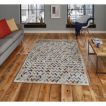 16 Avenida 36A Multi rectángulo alfombras alfombras Funky