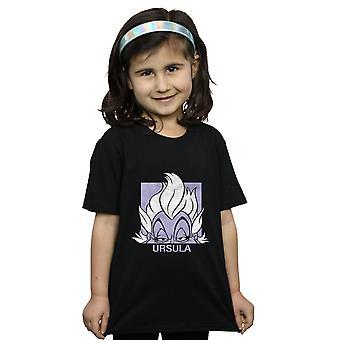 Disney Girls Usrsula Cropped Head T-Shirt