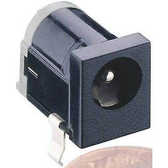 Lumberg 1613 18 Low power connector Socket, horizontal mount 6.3 mm 2 mm 1 pc(s)