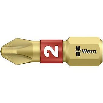 Wera 851/1 BDC PH 05056402001 פיליפס סיבית PH 2 סגסוגת פלדה כלי, DLC מצופה D 6.3 1 pc(s)