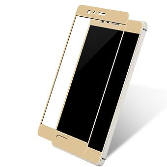 Huawei mate 9 3D armoured glass foil display 9 H protective film covers case gold