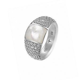 Joop kvinnors ring silver zirconia Naomi JPRG90700A