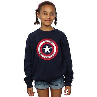 Marvel tytöt Kapteeni Amerikka ahdistuneita Shield pusero