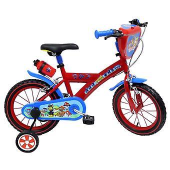 bicicleta de 16 diámetro pata patrulla