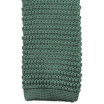 Knightsbridge Neckwear Knitted Tie - Green